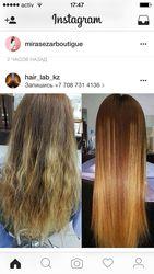 Кератиновое выпрямление волос на премиум составах